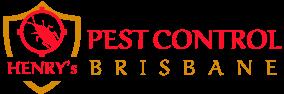 Henrys Pest Control Black Logo